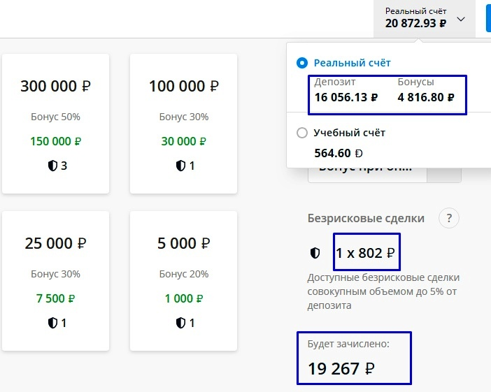 Пополнение счета на 16056,13 рублей
